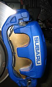 Painted Brake Calipers W Subaru Logo Subaru Legacy Forums