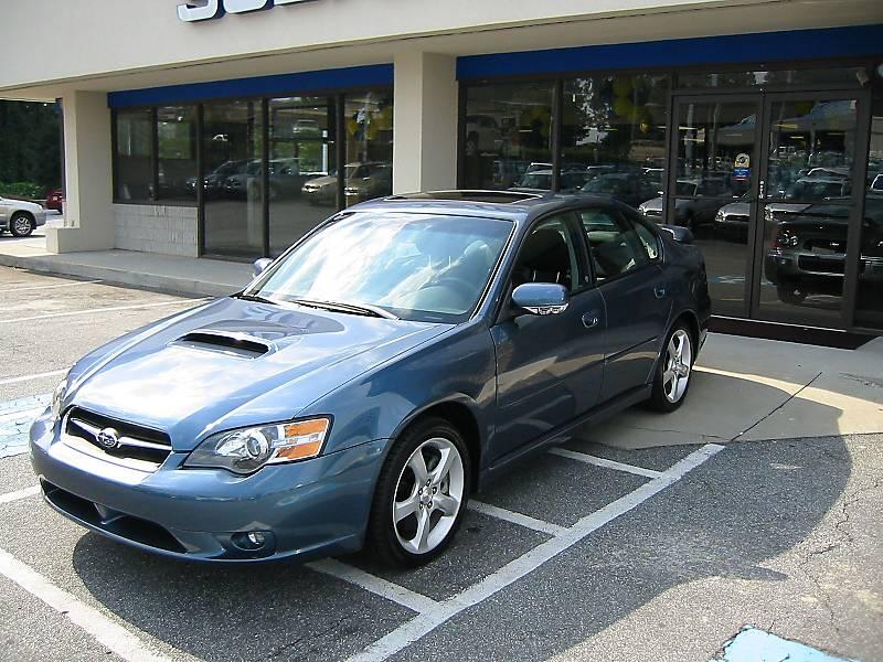 2005 subaru legacy gt limited wagon